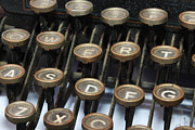 Typographic  Photos - Typewriter keys by Val  Lawless