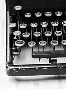 Typewriter Keys Photos - Typewriter Triptych Part 1 by Edward Fielding