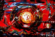 Destruction Digital Art Originals - Typhoon Yolanda is Coming by Romy Galicia