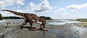Julius Csotonyi - Tyrannosaurus enjoying...