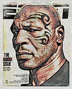 Espn Prints - Tyson Magazine Cover Print by Alice Gipson