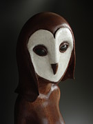 Barn Sculpture Originals - Tyto by Terry Widner