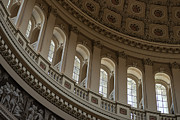 Dome Metal Prints - U S Capitol Dome Metal Print by Steve Gadomski