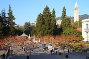 Schools Photos - UC Berkeley . Sproul Plaza . Sather Gate and Sather Tower Campanile . 7D10002 by Wingsdomain Art and Photography