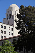 Ucb Metal Prints - UC Berkeley International House College Dormatory 5D24741 Metal Print by Wingsdomain Art and Photography