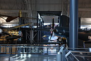 Museum Prints - Udvar-Hazy Center - Smithsonian National Air And Space Museum annex - 12121 Print by DC Photographer