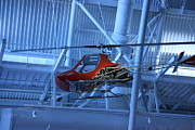 Flying Prints - Udvar-Hazy Center - Smithsonian National Air And Space Museum annex - 1212102 Print by DC Photographer