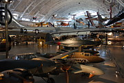 Airplane Prints - Udvar-Hazy Center - Smithsonian National Air And Space Museum annex - 1212109 Print by DC Photographer