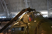Udvar-hazy Center - Smithsonian National Air And Space Museum Annex - 121220 Print by DC Photographer