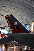 Udvar-hazy Center - Smithsonian National Air And Space Museum Annex - 121222 Print by DC Photographer
