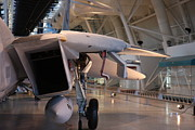 Udvar-hazy Center - Smithsonian National Air And Space Museum Annex - 121239 Print by DC Photographer