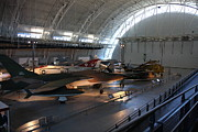 Udvar-hazy Center - Smithsonian National Air And Space Museum Annex - 12125 Print by DC Photographer