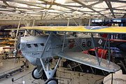 Airplanes Prints - Udvar-Hazy Center - Smithsonian National Air And Space Museum annex - 121252 Print by DC Photographer