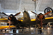 Hazy Metal Prints - Udvar-Hazy Center - Smithsonian National Air And Space Museum annex - 121285 Metal Print by DC Photographer