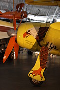 Plane Metal Prints - Udvar-Hazy Center - Smithsonian National Air And Space Museum annex - 121299 Metal Print by DC Photographer