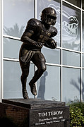 Heisman Art - UF Heisman Winner Tim Tebow  by Lynn Palmer