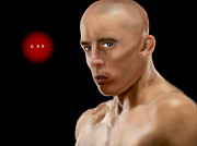 Champion Digital Art - UFC Champion GSP by Mathieu Lalonde