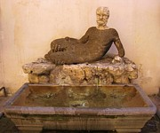 Rome Sculptures - Uh I Would Not Drink Out of This If I Were You by John Malone Halifax photographer