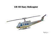 Barry Jones - UH-IH Huey Helicopter