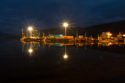 Gabor Pozsgai - Ullapool harbour by...
