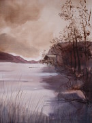 Hazel Millington - Ullswater boathouse...
