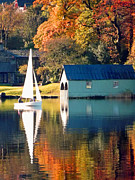 Photos Of Autumn Prints - Ullswater Print by Linsey Williams
