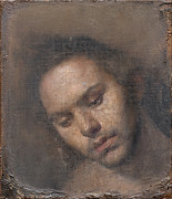 Odd Portrait Art - Ulrik tilted by Odd Nerdrum