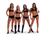 Female Models Body Posters - Ultimate Four Poster by Jt PhotoDesign