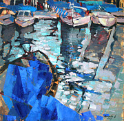 Water Reflections Originals - Ultramarine. by Anastasija Kraineva