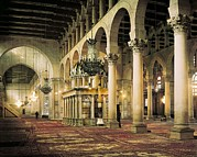 Great Mosque Prints - Umayyad Great Mosque. Syria. Damascus Print by Everett