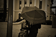 Angela Castillo Art - Umbrella Love by Cherie Haines