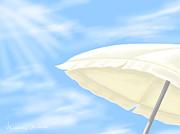 Umbrella Print by Veronica Minozzi