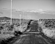 Gravel Road Photos - Umptanum Road - Kittitas County - Washington by Steve G Bisig