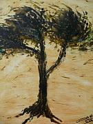 Change Paintings - Un Arbre Un Enfant. by Coco de la Garrigue