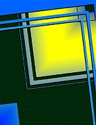 Line Metal Prints - Unbalanced Geometric Art Metal Print by Mario  Perez