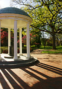 Mccorkle Metal Prints - UNC-CH Old Well and McCorkle Place Metal Print by Orange Cat Art