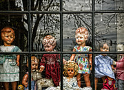 Toy Shop Photo Metal Prints - Uncertainty Metal Print by Joanna Madloch