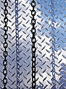 Patterned Photo Posters - Unchain That Cloud Poster by Sarah Loft