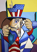 Uncle Sam 2001 Print by Anthony Falbo