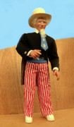 Cartoon Sculptures - Uncle Sam by David Wiles