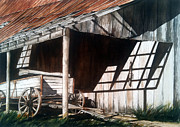 Uncle Seifs Wagon  Print by Don F  Bradford