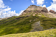 Slide Rock Prints - Uncompahgre Peak Print by Aaron Spong
