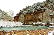 Colorado Stream Prints - Uncompahgre River  Print by Marilyn Hunt