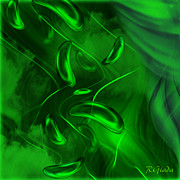 Bonding Digital Art - Unconditional love - abstract art by Giada Rossi by Giada Rossi