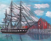 Uss Constitution Paintings - Unconstitutional by Cliff Wilson
