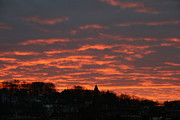 Home Decor Photos - Under A Blood Red Sky by Neal  Eslinger