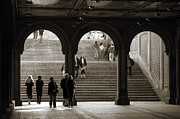 Bethesda Terrace Prints - Under Bethesda Terrace Print by RicardMN Photography
