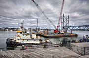 Seacoast Prints - Under Construction Print by Eric Gendron
