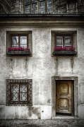 Ancient Doors Prints - Under St Stephens Print by Joan Carroll