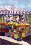 Healthy Originals - Under the Awning by Kris Parins